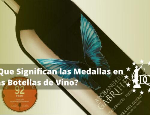 Que Significan las Medallas en las Botellas de Vino | Master en Enología