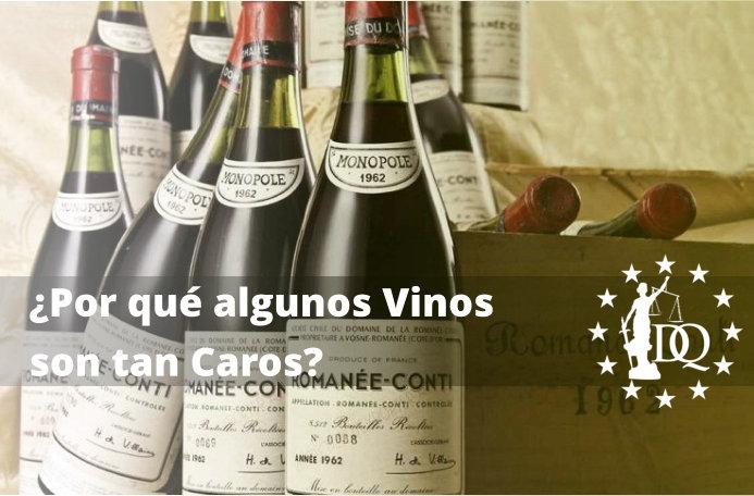Por qué algunos vinos son tan caros
