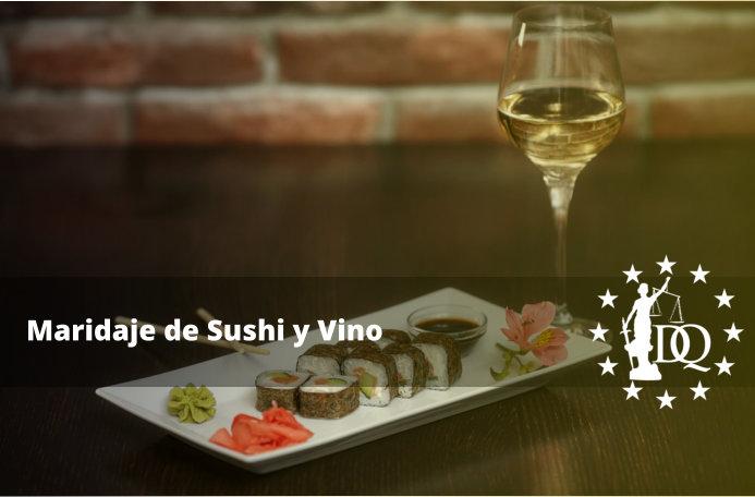 Maridaje de Sushi y Vino