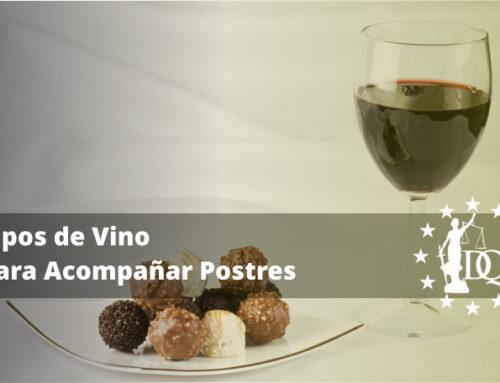 10 Tipos de Vino para Acompañar Postres   Master en Enología Online